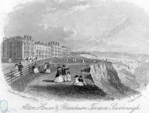Scarborough: Blenheim Terrace, North Bay 1858